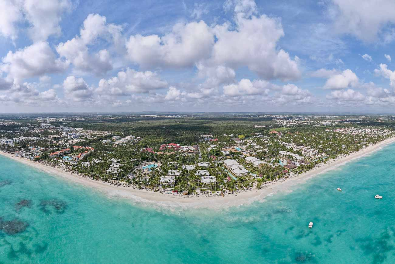 Grand Palladium Palace View from Above