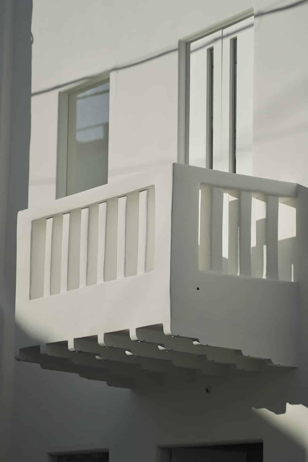 Beautiful shadows on buildings