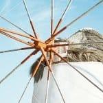 Greek windmills of Mykonos