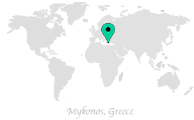 we are currently in mykonos greece