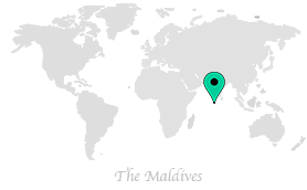 map of where we are in the maldives