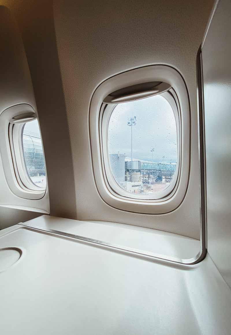 air france row 4L boeing 777 business class