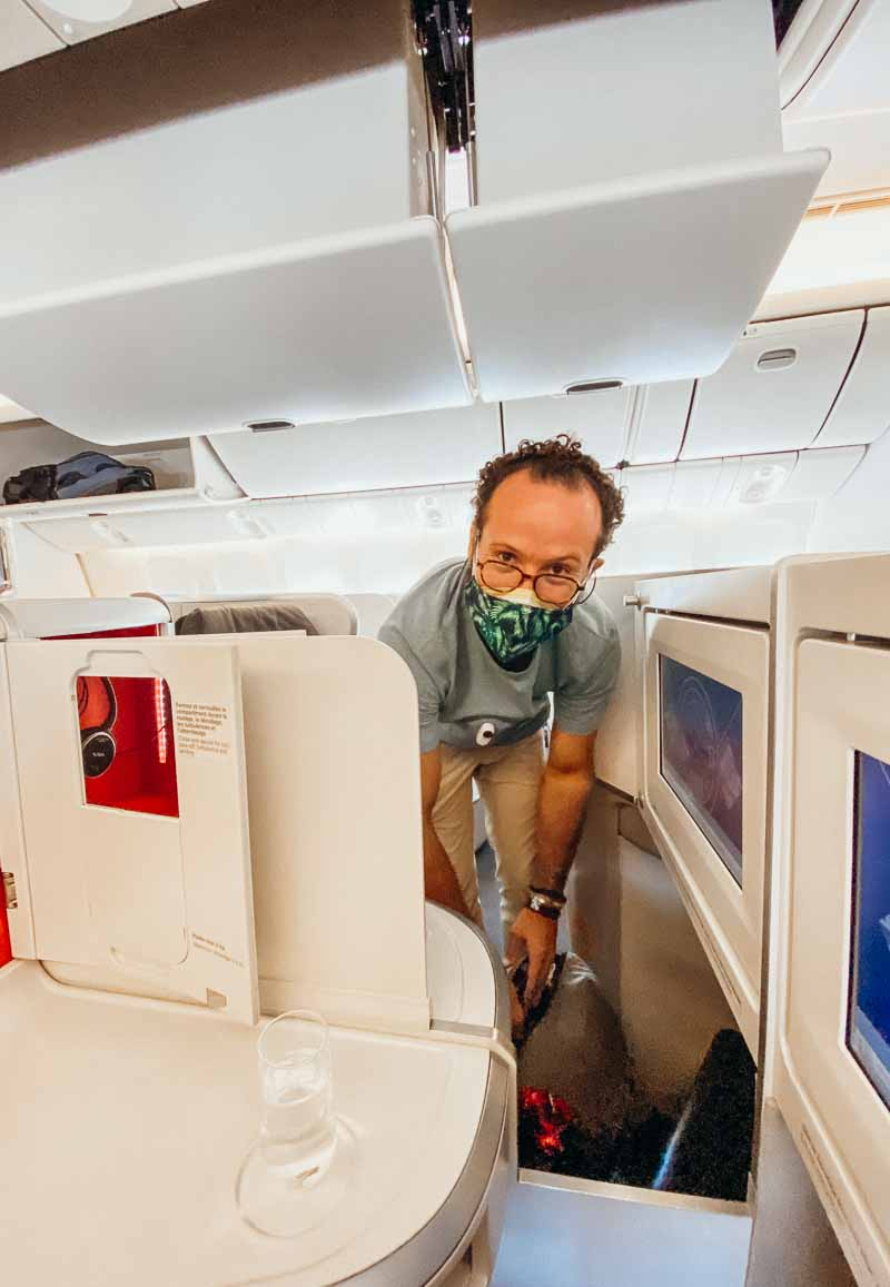air france row 4E boeing 777 business class