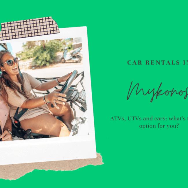 car rental mykonos header